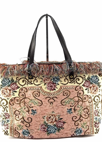 Banditas carpet bag rosa