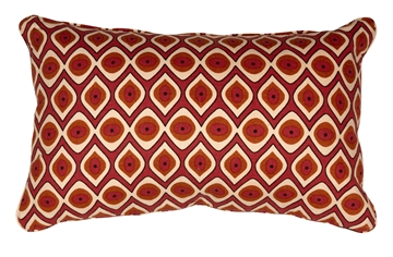 Day Home cushion 25x40  Modern deep brown