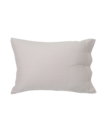 Lexington Hotel Tencel Stripe Lt Beige/White  pillowcase