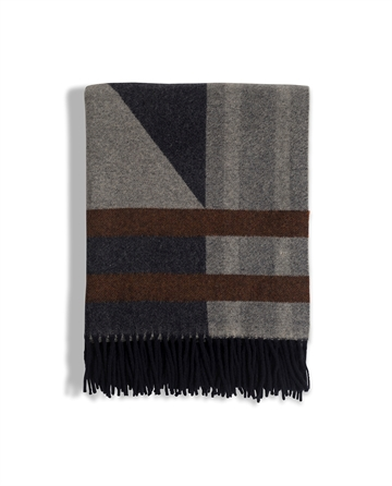Argyle Wool Throw 130x170