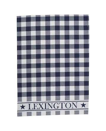 Hotel Gingham Kitchen Towel, White/Blue 3 stk ass.