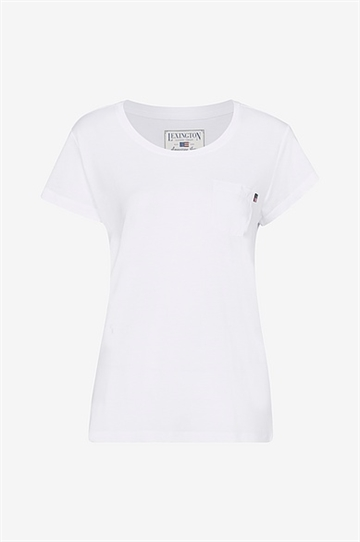 Top Ashley Jersey Tee hvid