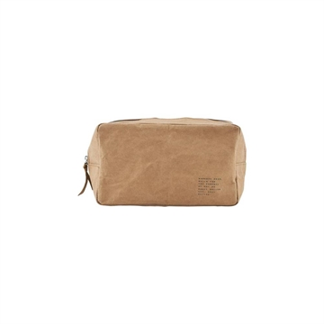 House Doctor - Toilet bag Nomadic Light brown