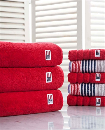 Lexington Icons Original Bath Towel Red 100x150