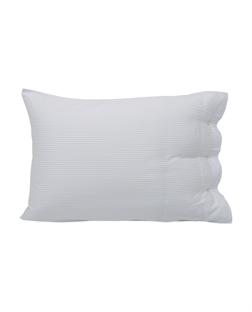 Lexington Hotel Tencel Stripe White/Blue Pillowcase